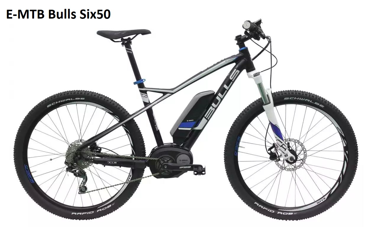 Bulls-E-MTB-Bosch Performance Line CX 500 Watt