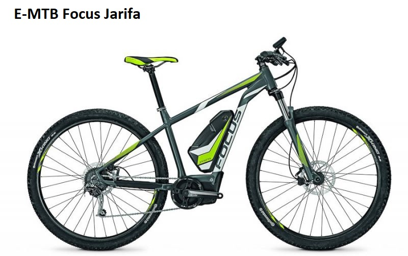 E-Mountainbike Focus Jarifa Bosch Performance Line CX 500 Watt