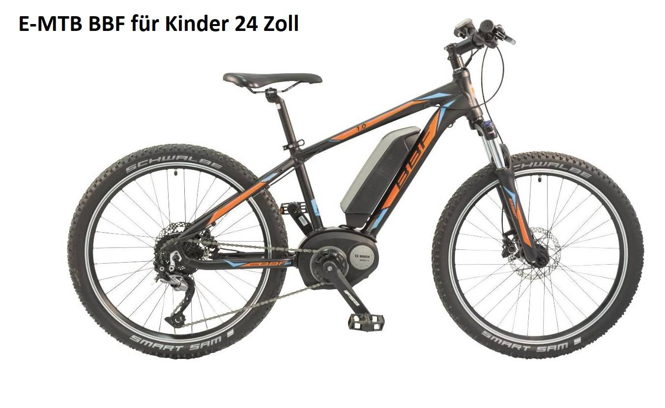 Kinder E-Bike 24 Zoll